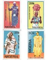 Ref. 624711 * MNH * - NIGERIA. 1989. TRADITIONAL COSTUMES . COSTUMBRES TRADICIONALES - Nigeria (1961-...)