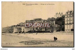 CPA Trouville La Reine Des Plages Villas Et La Corniche - Trouville