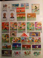Timbres Motifs - Sports, Football, Tennis, éthique Corporelle, Voile, Vélo, Tour De France Avec 2 BF's, Album Vert - Stamps