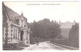 Liancourt (60-Oise) Entrée Du Château Latour - Liancourt