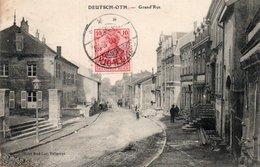 57-DEUTSCH OTH-GRAND RUE - France