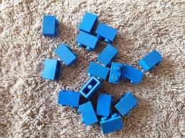 Lot Lego  1x2 Bleu - Lego