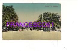 3302) VENETO TREVISO TRAM 1915 VIAGGIATA - Treviso