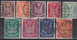 Wlk_ Deutsches Reich - Mi.Nr. 210 - 218 - Gestempelt Used - Allemagne