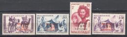 Mauritania 1941 Y.T.19/22 */MH VF/F - Neufs