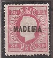Madeira, 1871/6, # 17 Dent. 12 3/4, Sob. B, MNG - Madeira