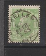 COB 30 Oblitération Centrale Simple Cercle BRUXELLES - 1869-1883 Léopold II