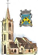 Creil Blason église Illustrateur - Creil