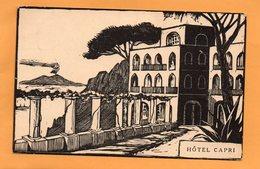Capri Italy 1906 Postcard - Napoli (Napels)