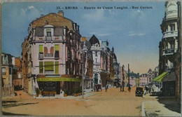 Reims : Entrée Du Cours Langlet - Rue Carnot - Reims
