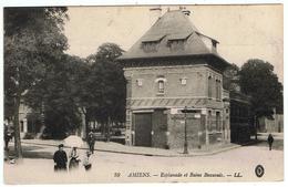 Amiens / Esplanade Et Bains Beauvais / 1917 / Ed. LL - Amiens