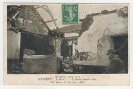 62 - Maroeuil - Maison Bombardée - France