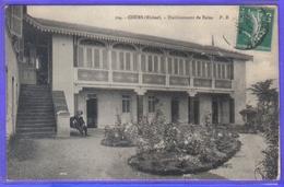 Carte Postale 69. Cours  Etablissement De Bains Très Beau Plan - Cours-la-Ville