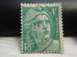 Timbre  Marianne De Gandon  4 F N° 807 - France