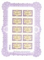 Polynésie Française Année 2013 Timbre 1044 Et 1045 Feuille Feuillet  Gravures - Polynésie Française