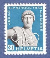 SUISSE 1942 _ 50e Anniversaire Du CIO _ * * Sans Charnière - Unused Stamps