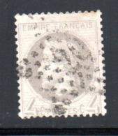 YT 52 OBLITERE ETOILE DE PARIS 20 - 1863-1870 Napoléon III. Laure