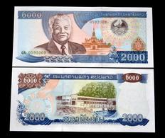Laos (Lao) 2000 Kip 2003 P-33b UNC BANKNOTE CURRENCY - Laos