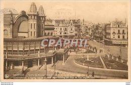 CPA Namur Ostende Sortie De Kursaal Vers La Ville - Namur