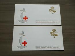 BELG.1963 1267A ** & 1267B ** Postzeglboekjes Voorrang NL & Prédominance FR (VOIR SCANS/BEKIJK SCANS) - Belgium