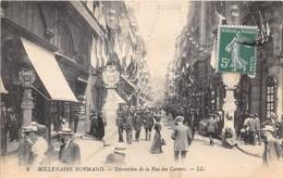 ROUEN - Millénaire Normand 1911  - Décoration De La Rue Des Carmes - Rouen