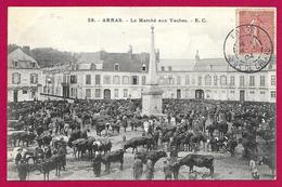 CPA Arras - Le Marché Aux Vaches - Arras