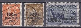 Wlk_ Deutsches Reich - Mi.Nr. 258 - 260 -  Gestempelt Used - Allemagne