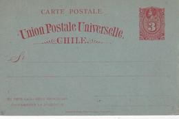 CHILI  ENTIER POSTAL/GANZSACHE/ POSTAL STATIONERY  CARTE - Chili