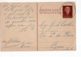 Glanerburg (OV) Kortebalk - 1956 - Postal History