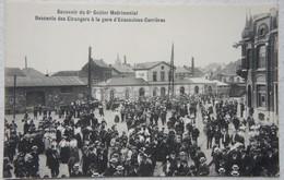 CPA ECAUSSINNES Carrières Gare Descente Des érangers - Ecaussinnes