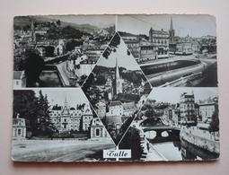 19 - Cpsm Grand Format - TULLE - Les Quais -la Cathédrale - La Préfecture - Vue Générale - Tulle