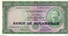 Mozambique P.117 100 Escudos  1976 Unc - Mozambique