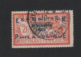Faux N° 257A 2 F Merson Exposition Philatélique Du Havre Oblitéré Du Salon 2eme Choix - 1900-27 Merson