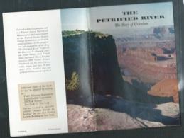 """Année 1959 """"The Petrified River - The Story Of Uranium """" / Public Relation Departement :union Carbide Corpo-   Pma77 - Exploration/Travel"""