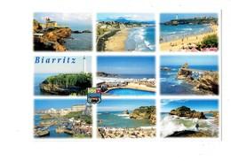 Cpm - BIARRITZ - Rocher De La Vierge - Blason Coquille Baleine - Phare THOUAND - 2005 - Biarritz