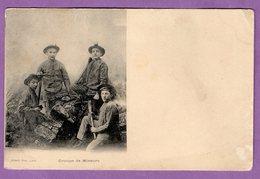 Groupe De Mineurs Albert Photo Lens - Carte Non Ecrite - - Mines