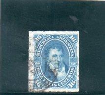 ARGENTINE 1876-8 O - Oblitérés