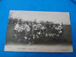 Cpa Les Sports Rugby, Un But - Metropolitana, Stazioni