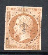 YT 13 A OBLITERE ANCRE - COTE 40 € - 1853-1860 Napoléon III.