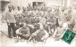 CHATEAUDUN (Eure-et-Loir 28) : Militaires Du 1er Régiment De Chasseurs à Cheval - Carte-photo - Chateaudun