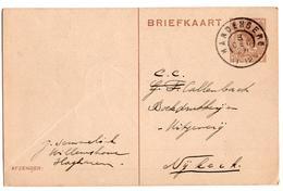 Hardenberg Grootrond - 1924 - Marcophilie