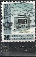 Allemagne 2018 Oblitéré Used Design Récepteur Radio à Ondes Courtes T 1000 Par Dieter Rams SU - BRD