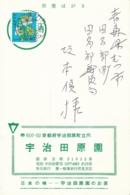 Post Karte Aus Japan Marke Mit Schmetterlinge - Sin Clasificación