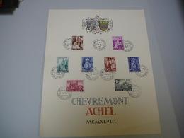 (19.03) BELGIE 1948 - Souvenir Cards