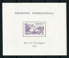 Guayana (Francesa) Nº HB-1 Nuevo(*) - Unused Stamps