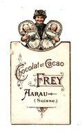 Chromo   CHOCOLAT FREY  à Aarau   Femme Et Bébés    12 X 6.4 Cm - Otros