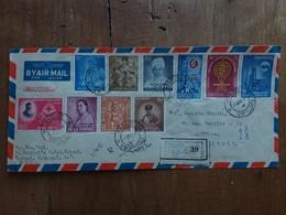 INDIA - Bella Raccomandata Anni '60 Spedita In Italia + Spese Postali - Storia Postale
