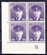 ** Tchécoslovaquie 1945 Mi 443 (Yv 391), (MNH) - Variedades Y Curiosidades