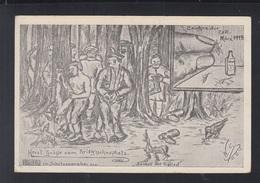 Dt. Reich PK Entlausung 1915 - Guerre 1914-18