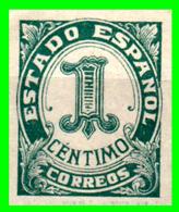 ESPAÑA – SEGUNDA REPUBLICA  AÑO 1933 SERIE CIFRAS NUEVO - 1931-Hoy: 2ª República - ... Juan Carlos I